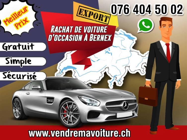 Rachat de voiture d'occasion à Bernex