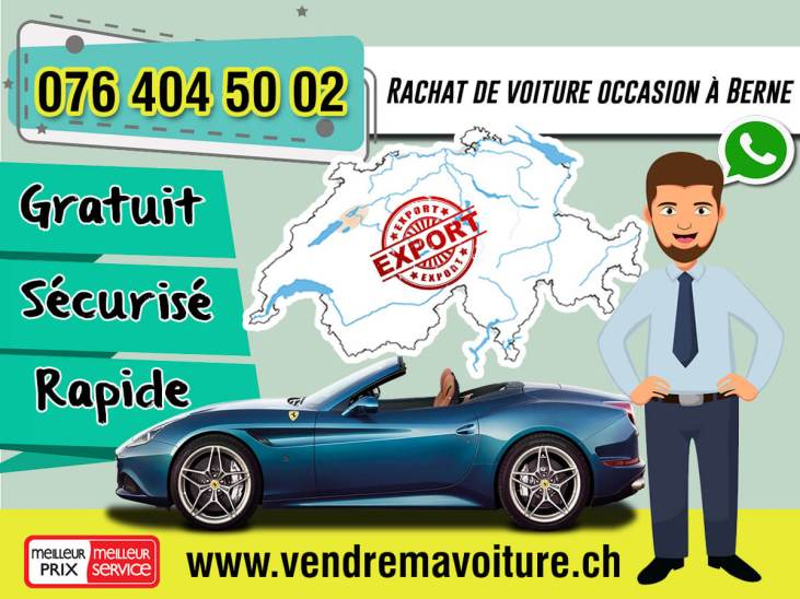 Rachat de voiture occasion à Berne