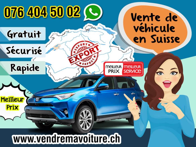 Vente de véhicule en Suisse