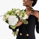 Dahlias Rose White Bouquet 15 Flower, Venera Flowers, online flower delivery dubai