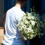 Eustoma White 50 Flower, Venera Flowers, online flower delivery dubai
