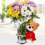 Lovely Arrangmenet Flower, Venera Flowers, online flower delivery dubai