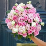 Rose Pink Mix Ustorma Flower, Venera Flowers, online flower delivery dubai