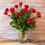 Rose Red 11 Flower, Venera Flowers, online flower delivery dubai