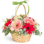 Sunflower Basket Fresh Flowers, Venera Flowers, online flower delivery dubai