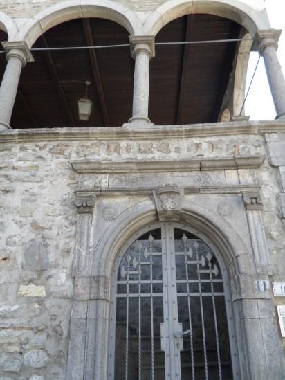 Palazzo Novia, particolare