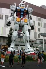 Gundam presso l' Isola artificiale di Odaiba