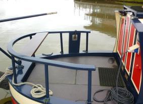 Casanova Venetian Hire Boat back
