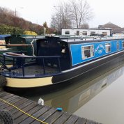 New boat to the Venetian Hire Boat fleet in Cheshire