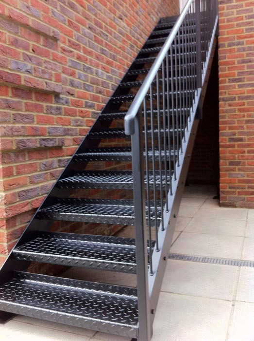 Wrought Iron Stairs Venetian Iron And Glass Railing Design Inc   Metal Steps For Outside   Loading Dock   Covered   Round   Easy   Outdoors