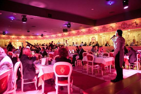 Elegant restaurant Venice