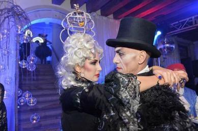 Venice Carnival party