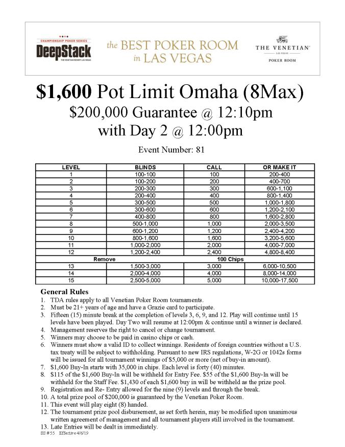 DCPS $1600 PLO (8Max)