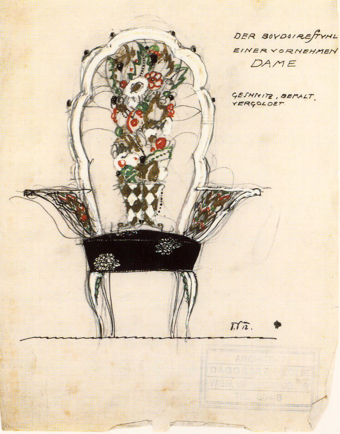 Dagobert Peche—Chair