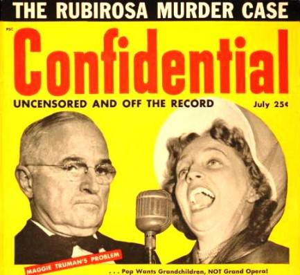 Confidential magazine cover, July 1954