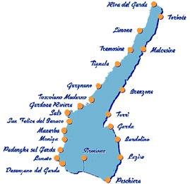 Cartina Lago Di Garda E Dintorni Tomveelers