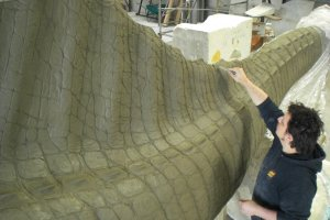 Spinosaurus_work in progress_003_foto Geomodel