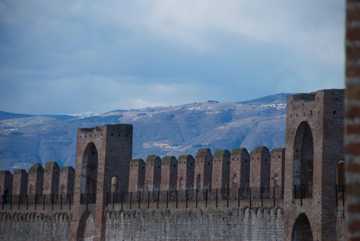 Sulle mura di Cittadella con i bambini