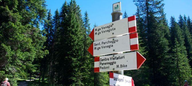 Con il passeggino in Val Venegia