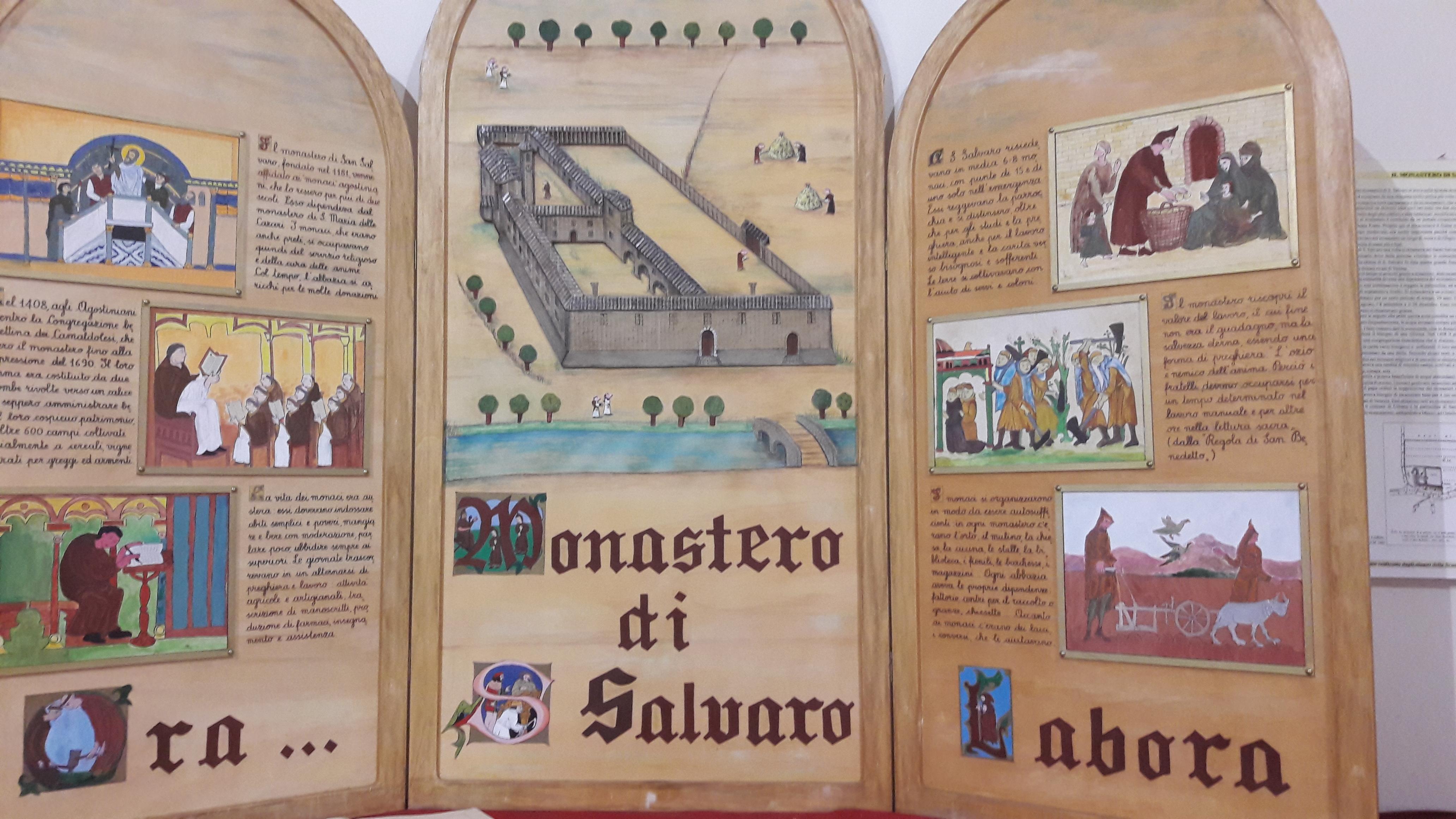 monastero san salvaro