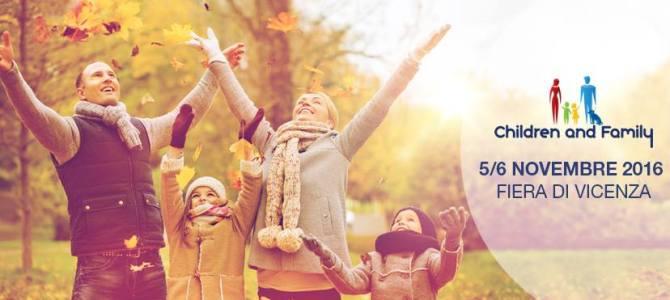 Veneto for Kids a Children & Family a Vicenza 5-6 Novembre 2016