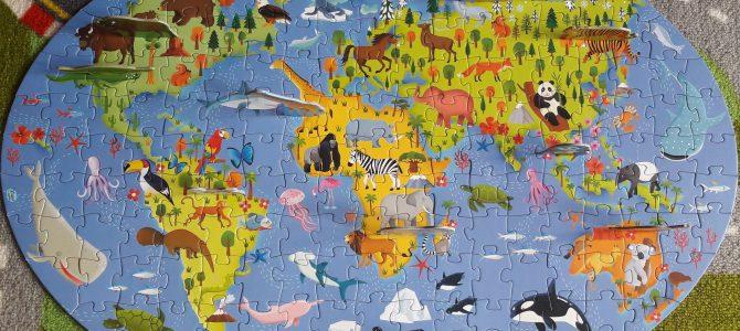 Viaggia, conosci, esplora: libro + puzzle di Sassi Junior