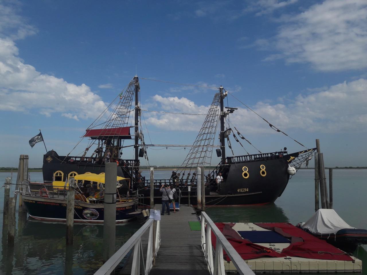 nave pirata bibione