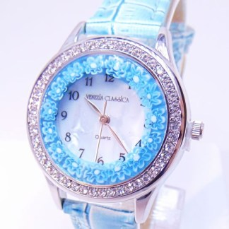 Orologio Venissa Azzurro Silver