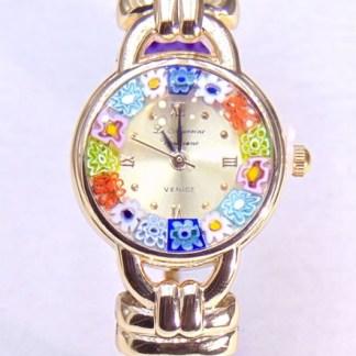 Orologio Bracciale Viola Gold