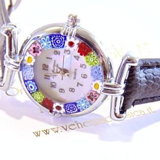 Orologio Murrina Nero Silver