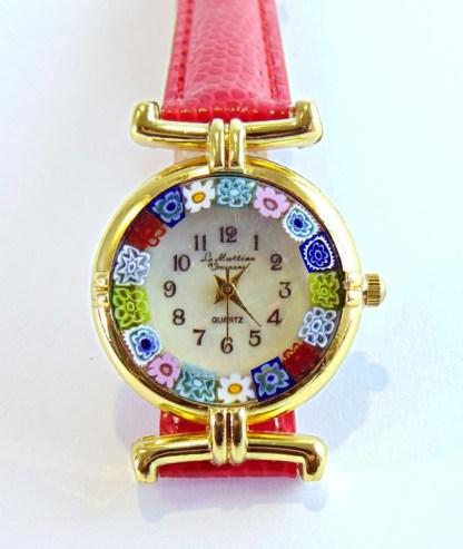 Orologio Murrina Rosso Gold