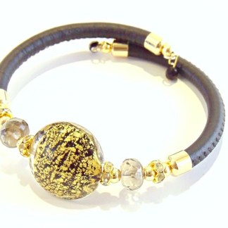 Bracciale Lumiere Black Gold