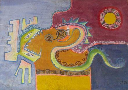 La Culebra, œuvre de José Márquez