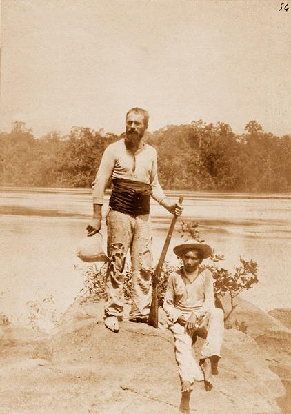 Jean Chaffanjon durant son expédition au Venezuela