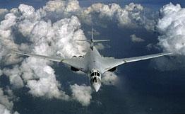Le bombardier russe TU-160