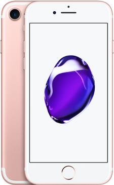 iPhone 7(ローズゴールド)