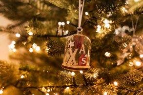 ベル型のクリスマスツリー飾り