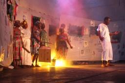 Teatro por las paz de Tumaco