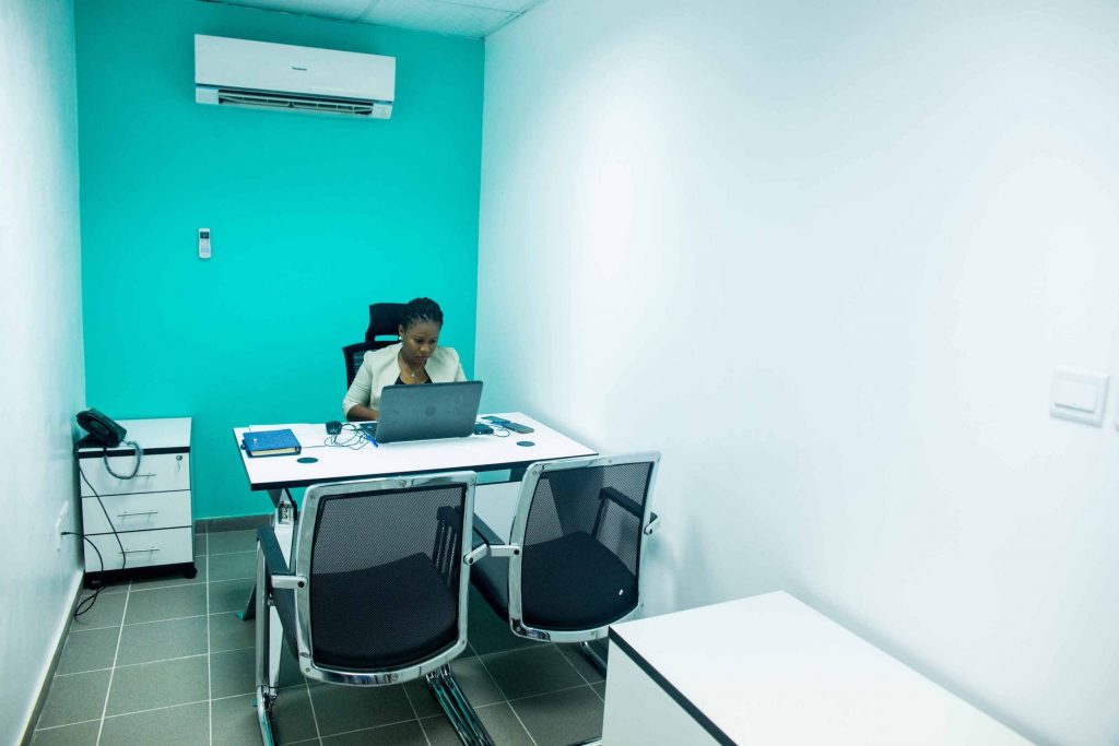 Serviced office for entrepreneurs