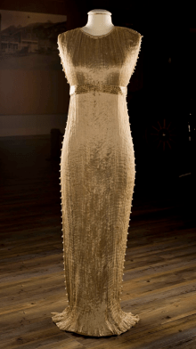 Ariana Garcia DuBar, Mariano Fortuny's Delphos Gown
