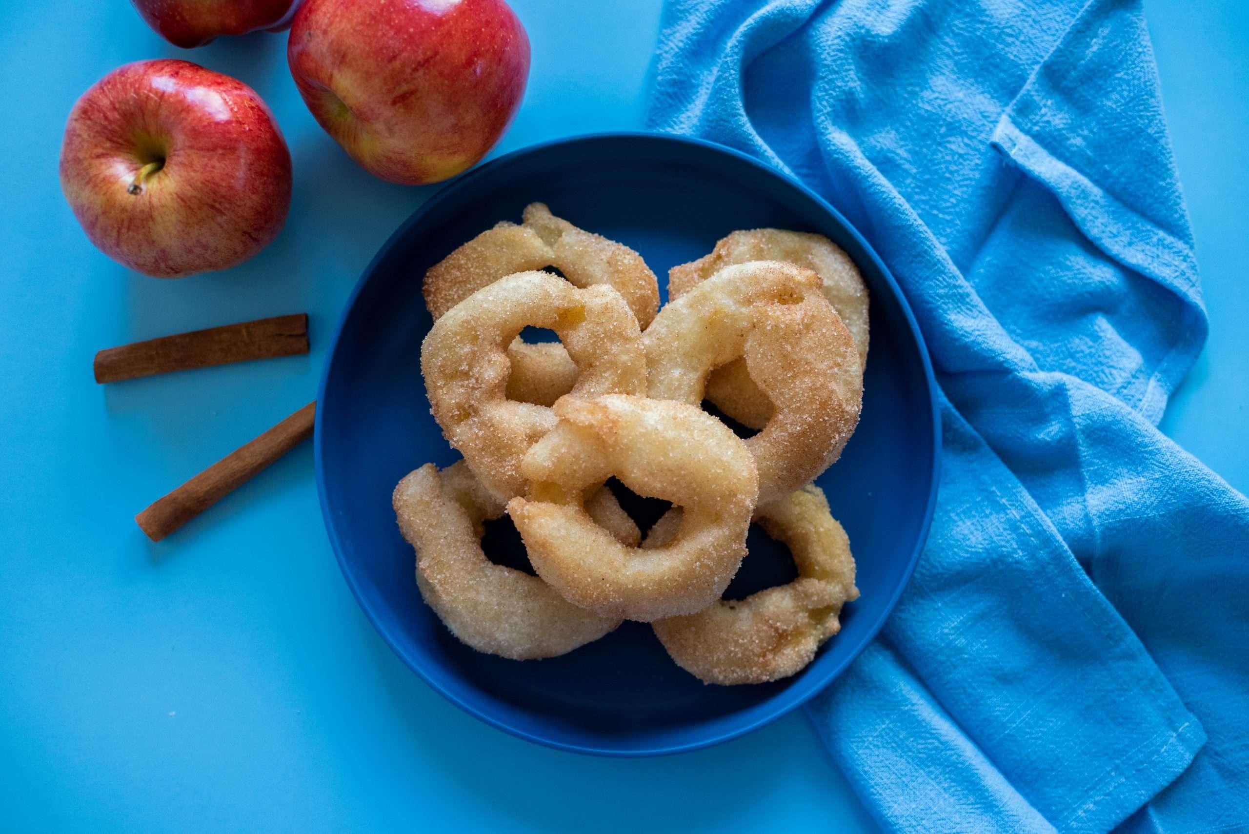 Vegan Apple Beignets