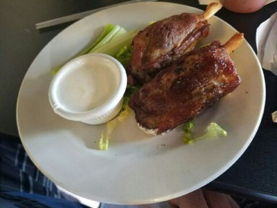 Pig Wings at Darrell's Restaurant in Venice FL