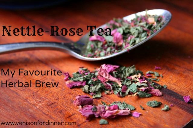 Herbal Nettle Rose Tea