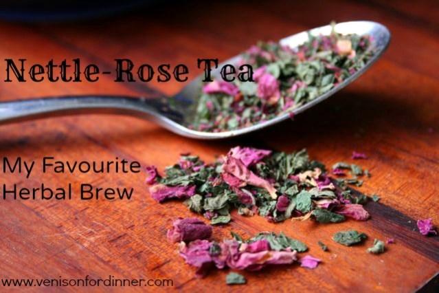 Herbal Nettle Rose Tea