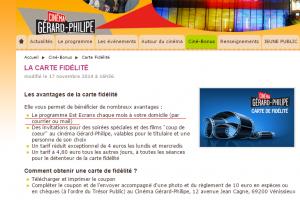 Carte Fidélité   Ciné Bonus   Cinéma   Vénissieux   Cinéma Gérard Philippe   Ville de Vénissieux