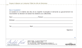 Coupon réponse tract picard