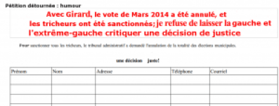petition picard election 2