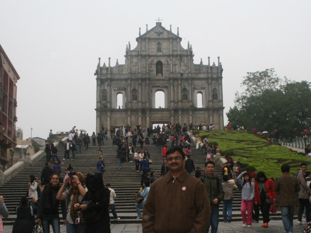 St Paul Cathedral, Macau