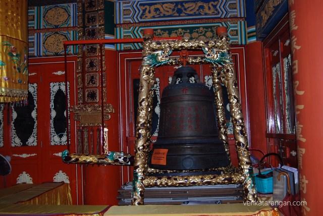 Bell - Kwan Tai Old Temple - Tai O