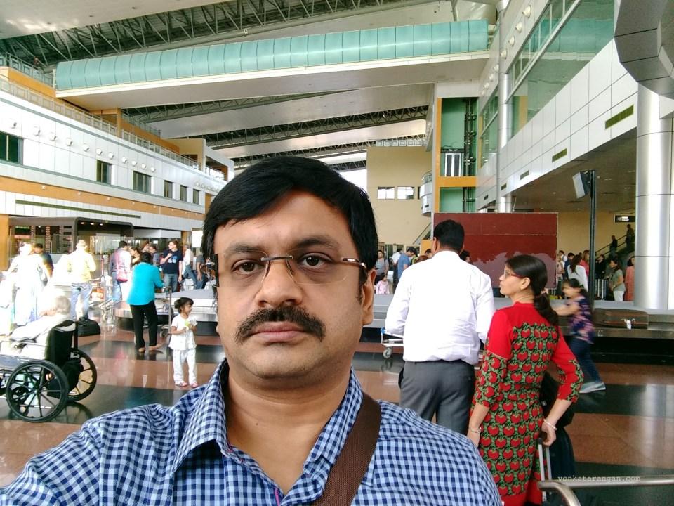 Baggage area in Maharana Pratap Airport